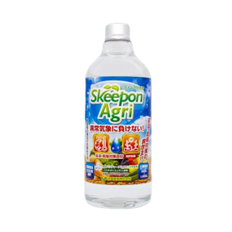 [12袋] スキーポン・アグリ Skeepon Agri 1L [ バイオスティミュラント資材 ] 酢酸 農園 農業 園芸 タ種 大興貿易 送料無料 代引不可