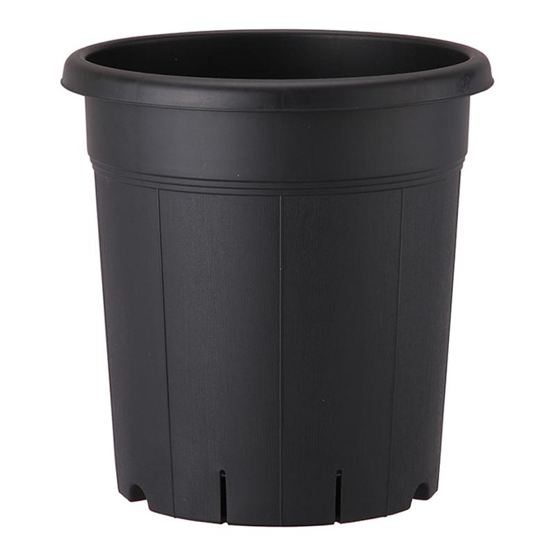 【個人宅配送不可】【北海道配送不可】【30個】 245型 ブラック 果樹鉢 ポット 鉢 おしゃれ アップルウェアー タ種 【送料無料】【代引不可】