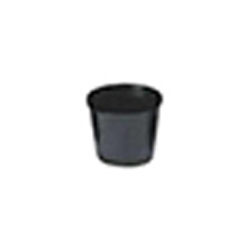 【20000個】 9cm 黒 TO 浅鉢安定型ポット ( UAタイプ ) ポリポット 東海化成 タ種 【送料無料】 【代引不可】