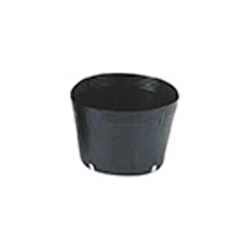 【3000個】 18cm 黒 TO 浅鉢安定型ポット ( UAタイプ ) ポリポット 東海化成 タ種 【送料無料】 【代引不可】