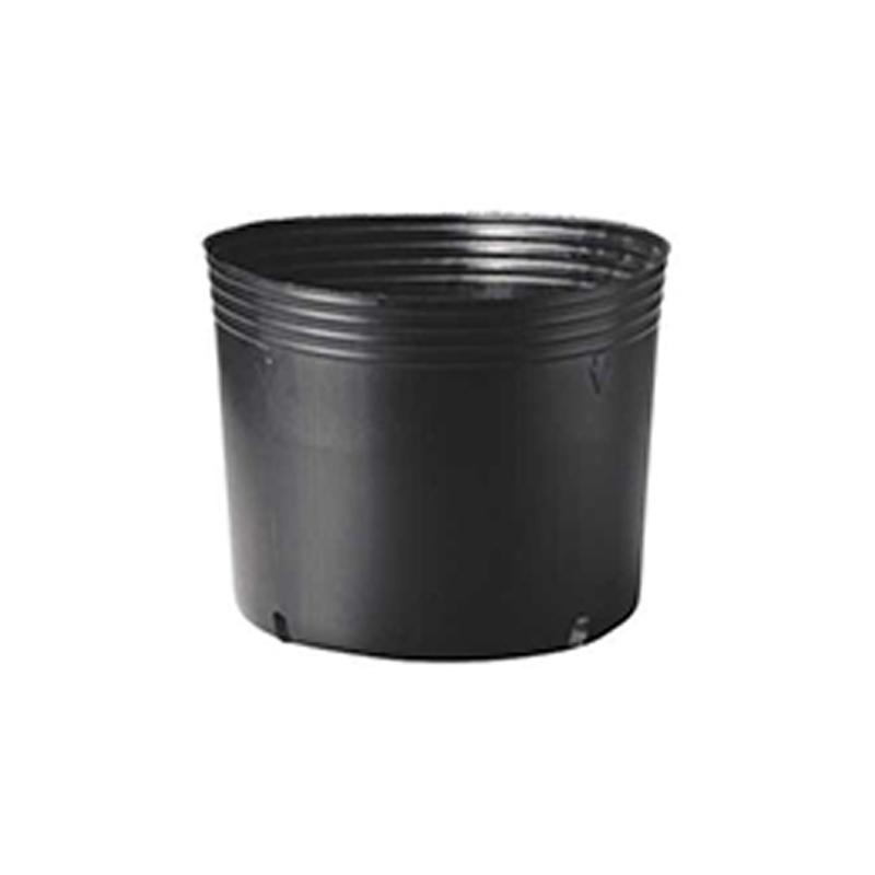 【125個】 40cm 黒 TO 浅鉢安定型ポット ( UAタイプ ) ポリポット 東海化成 タ種 【送料無料】 【代引不可】