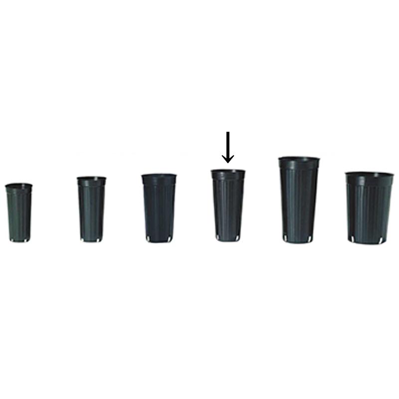 【3000個】 12cm 黒 TO ロングポット ( 果樹・植木用 ) ポリポット 東海化成 タ種 【送料無料】 【代引不可】