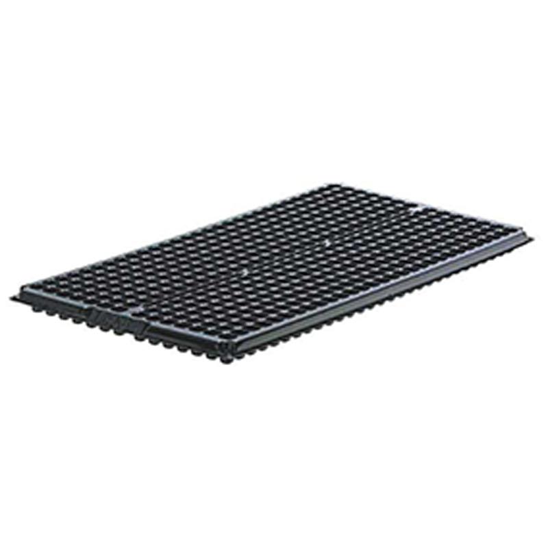 【500個】 54cm ×28cm 黒 TO プラグトレー ♯406 ( 14×29列 ) 東海化成 タ種 【送料無料】 【代引不可】