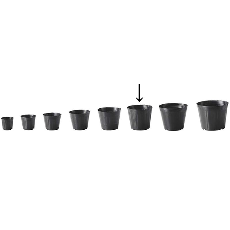 【5000個】 15cm 黒 TO カド穴ポット ポリポット 東海化成 タ種 【送料無料】 【代引不可】