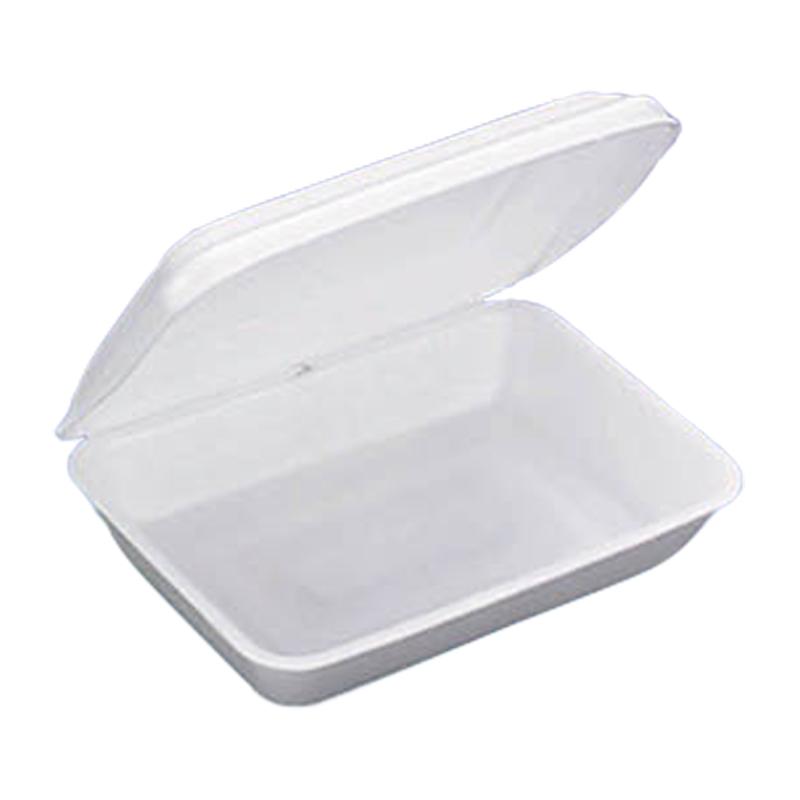 【個人宅配送不可】【1200枚】 G-350 156 × 109 × 高 26 mm PSP(高) 【58530】 弁当容器 食品容器 デンカポリマー Sモ【代引不可】