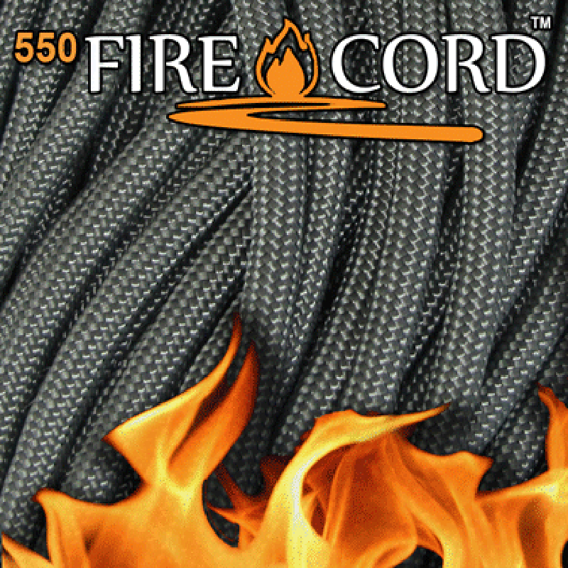 Live Fire Gear 550 Fire Cord フォリッジグリーン 50ft ブッシュクラフト BushCraft 【送料無料】 【代引不可】