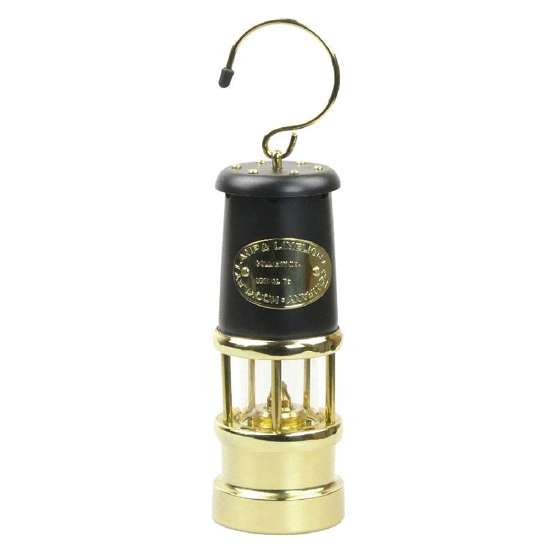 JDバーフォード マイナーズランプ Mサイズ / ブラック&ブラス #97 ブッシュクラフト BushCraft 【送料無料】 【代引不可】