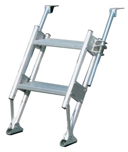 ハラックス 多目的階段・ステップ幅広タイプ マルチステッパー MTS-40-2-900S 防J 【送料無料】 【代引不可】