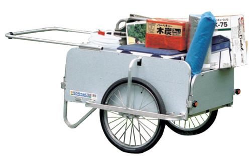 個人宅配送不可 ハラックス 折り畳み式 リヤカー ラクラクポーター RP-5400NP 全面パネル付 防J 代引不可