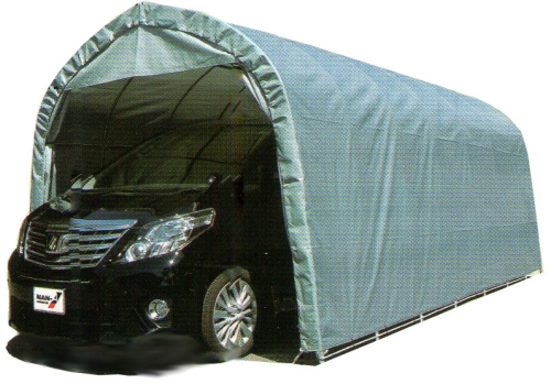 個人宅配送不可 パイプ車庫 3256BGR ベース車庫大型BOX用 西4 南栄工業送料無料 代引不可
