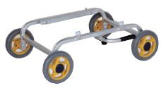 個人宅配送不可 ハラックス 愛菜号 アルミ製台車 低床斜め置きタイプ CH-20K (斜め置き) 防J 代引不可