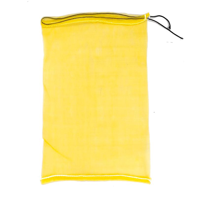 【個人宅配送不可】【500枚】種もみ袋 ( 種籾 ネット 種籾消毒袋 ) 黄色 40×65cm シN【代引不可】【送料無料】