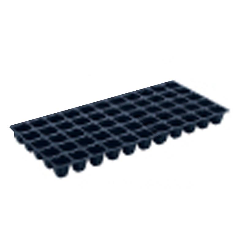 【100枚】 ヤンマートレイ 黒 45角 55穴 深さ45mm 葉たばこ ヤンマートレー タ種 【送料無料】 【代引不可】