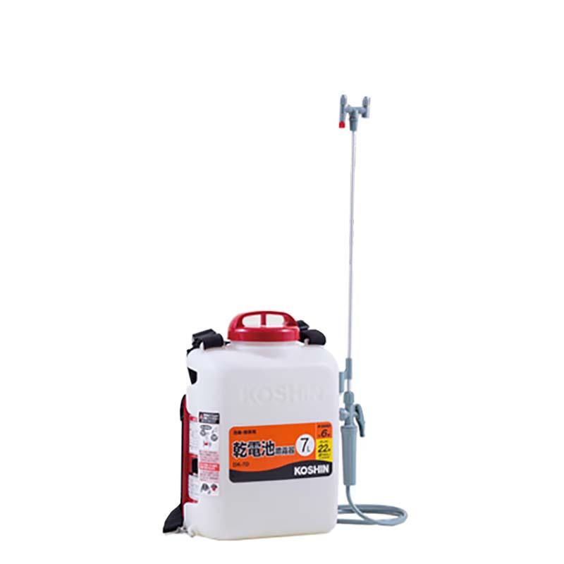工進 消毒名人 DK-7D 乾電池式噴霧器 シB【代引不可】
