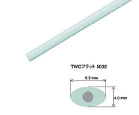 タキロン フラット線 長さ:1.80m 100本入 フラット50 タ種 【送料無料】 【代引不可】