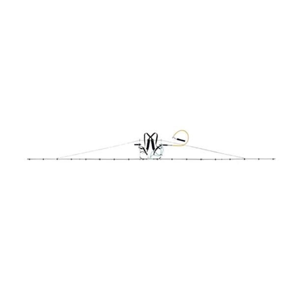 中持 ブーム G型 16頭口 キリナシ 除草 タイプ ( G3/8 ) (142093) ヤマホ 工業 防J 【送料無料】 【代引不可】