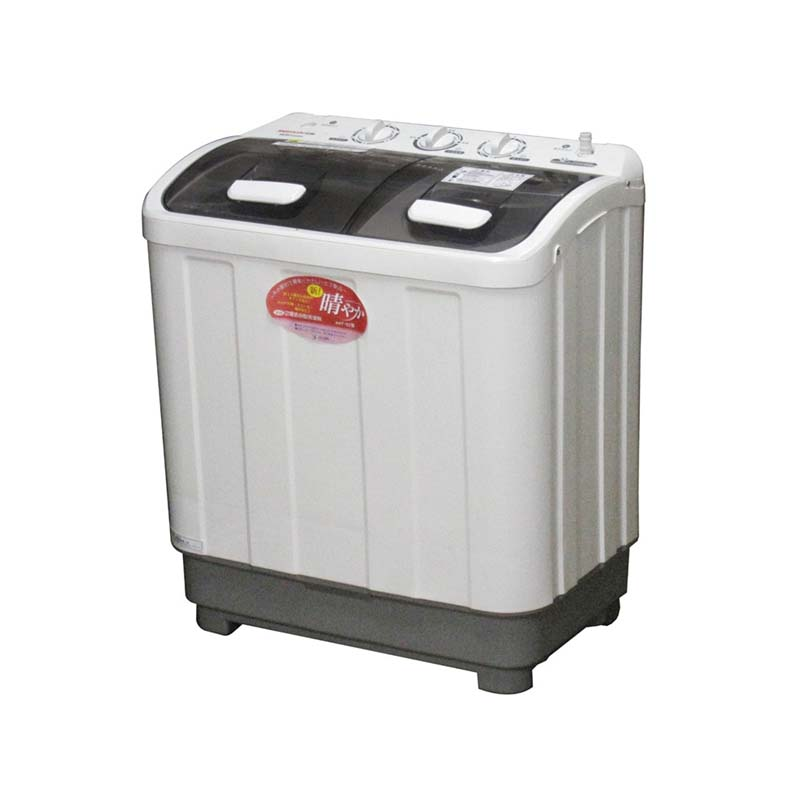 2層式小型洗濯機 新! 晴やか AHT-32 洗濯3.2kg 脱水2kg 二層式 アS 【代引不可】