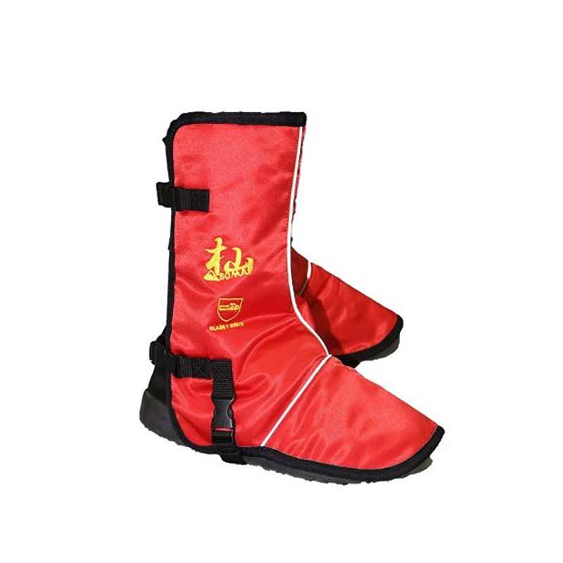 杣 (SOMA) チェンソー防護用 安全脚絆 HT009 WAKO 保護 安全靴 和光商事 D 送料無料
