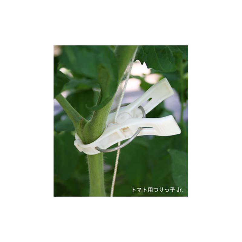 [600個] つりっ子Jr. ナスニックス 茎と誘引紐を固定 栽培 誘引具 サT 送料無料 代引不可