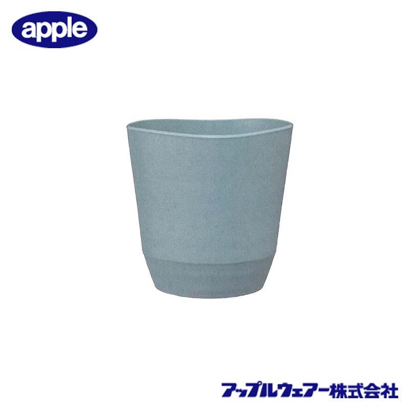 [32個] アトリエポット 23型 ライトグレー アップルウェア― 直径230×230mm インナーポットサイズ 6号鉢 陶器風 シンプル 丸型 鉢 タ種 送料無料 代引不可
