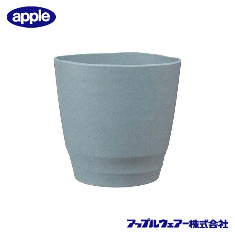 [16個] アトリエポット 30型 ライトグレー アップルウェア― 直径300×303mm インナーポットサイズ 8号鉢 陶器風 シンプル 丸型 鉢 タ種 送料無料 代引不可