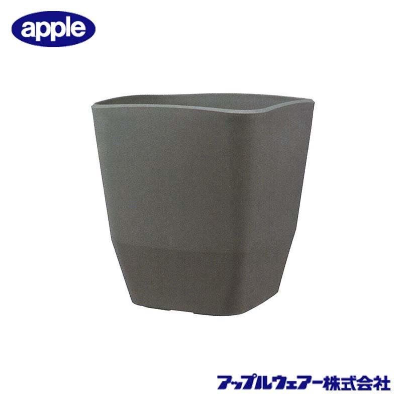 [16個] アトリエスクエア 290型 ダークグレー アップルウェア― 290×290×321mm インナーポットサイズ 8号鉢 陶器風 シンプル 角型 鉢 タ種 送料無料 代引不可