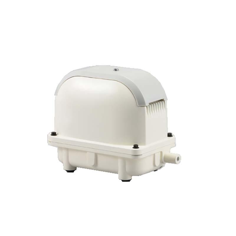 浄化槽用エアーポンプ ブロワポンプ AK-80D 空気量80L/分 AC-100V 工進 KOSHIN 省エネタイプ 低騒音 低振動 シB 送料無料 代引不可