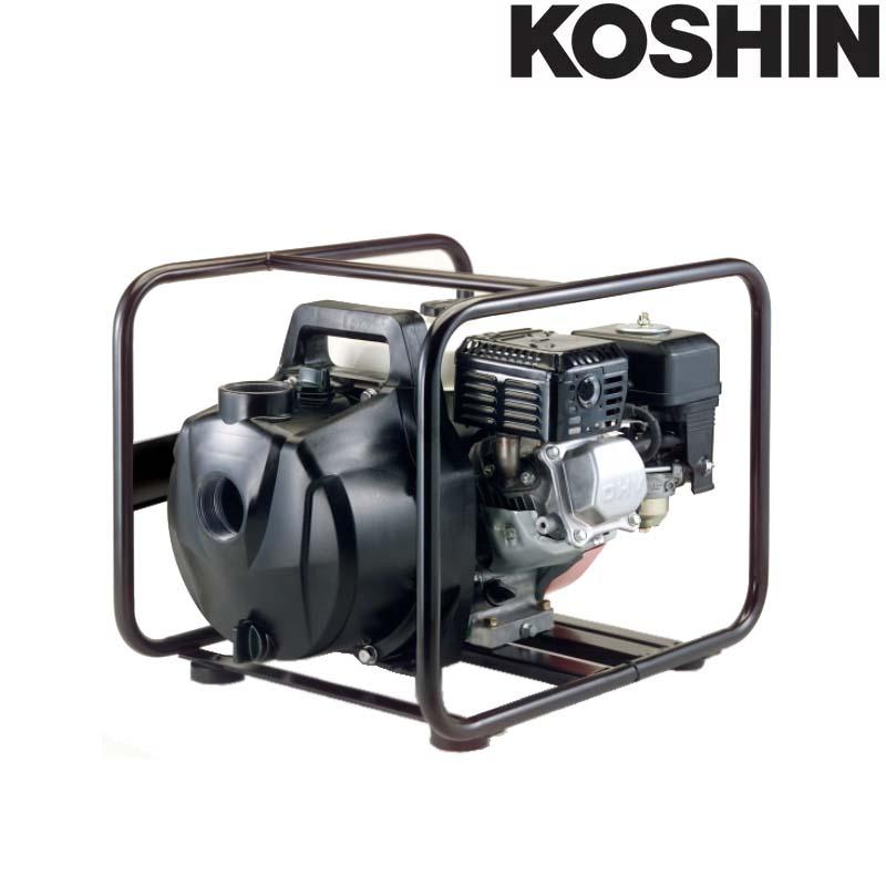 アグロメイト 高性能樹脂性エンジンポンプ PGH-50 (ホンダ GX120) 全揚程26m 最大吐出量560L/分 重量20.1kg 工進 KOSHIN 散水 洗浄 シB 送料無料 代引不可