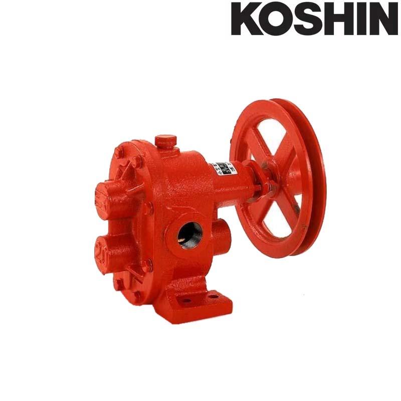 単体 ギヤーポンプ GC-20 口径20mm 吸入揚程4m以下 吐出量37L/分 重量6kg 工進 KOSHIN 灌水 散水 給油 移送に ギヤポンプ シB 送料無料 代引不可