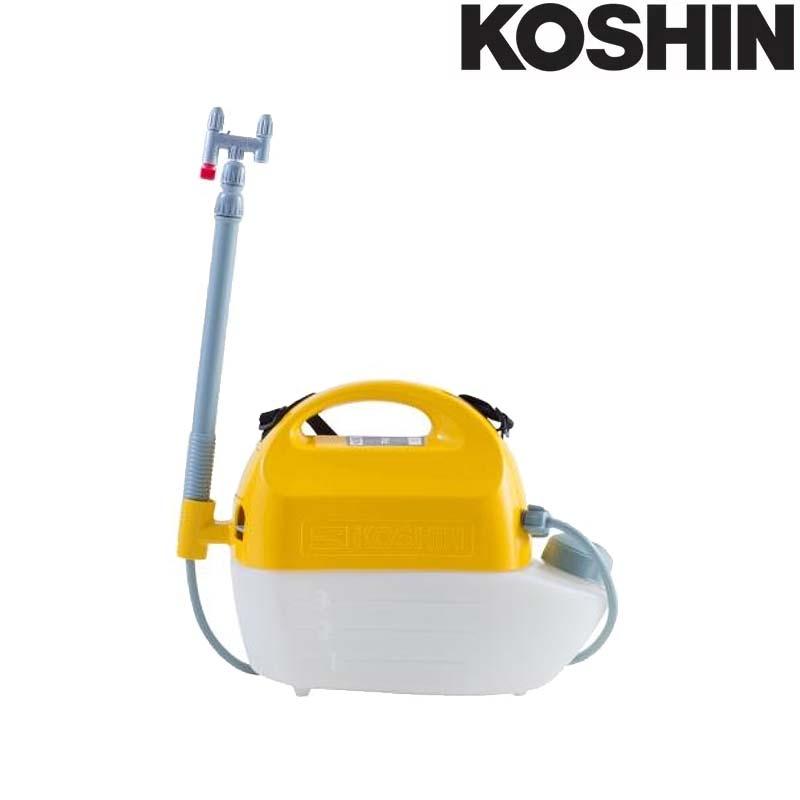 乾電池式噴霧器 ガーデンマスター GT-3HS 容量3L 2頭口 [霧状 直射 1頭口切替] 洗浄スイッチ付 重量1.3kg 工進 KOSHIN 殺虫 散布 散水 シB 送料無料 代引不可