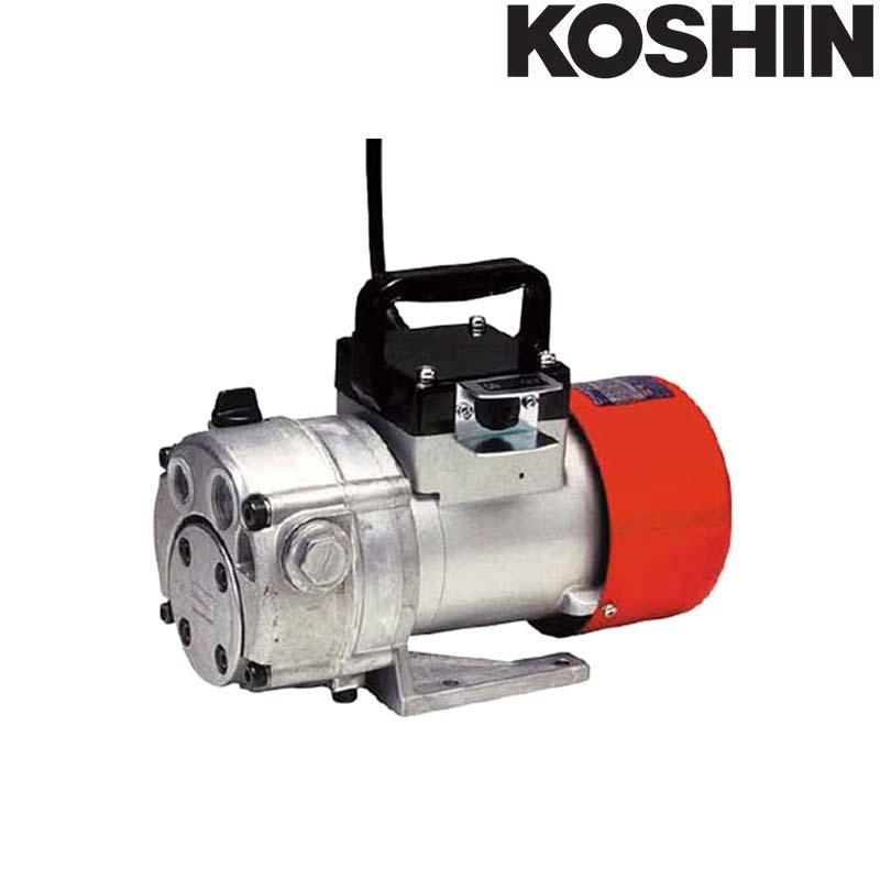 期間限定特別価格 KOSHIN 最大吐出量20L/min 重量10kg 工進 送料無料 :プラスワイズ業者用専門店 シB 高粘度用電動ハンディオイルポンプ (AC-100V) チェンジマスター 吸入揚程4~5m GM-2510H-DIY・工具
