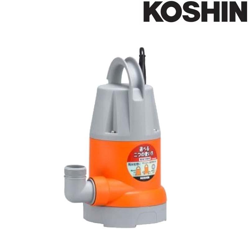 簡易汚水用水中ポンプ ポンスター YK-632 [60Hz] 口径32mm 全揚程7.5m 重量4.0kg 工進 KOSHIN 排水 給水 シB 送料無料 代引不可
