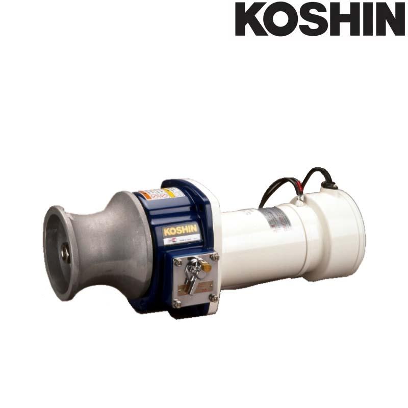 船舶用ウインチ イカール REL-5524LB 550W 電磁ブレーキ付 [横型] 重量24kg 工進 KOSHIN アンカー ウインチ シB 送料無料 代引不可