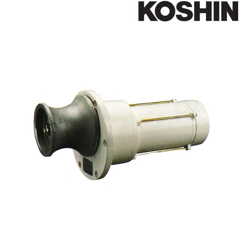 [受注生産品] 船舶用ウインチ イカール REN-7524 750W [横型] 重量23kg 工進 KOSHIN アンカー ウインチ シB 送料無料 代引不可