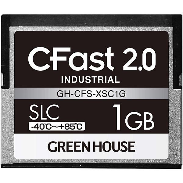 【送料無料】グリーンハウス GH-CFS-XSC1G CFast2.0 SLC -40度~85度 1GB 3年保証【在庫目安:お取り寄せ】