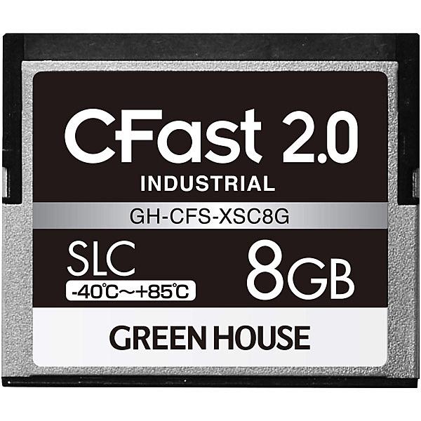 【送料無料】グリーンハウス GH-CFS-XSC8G CFast2.0 SLC -40度~85度 8GB 3年保証【在庫目安:お取り寄せ】