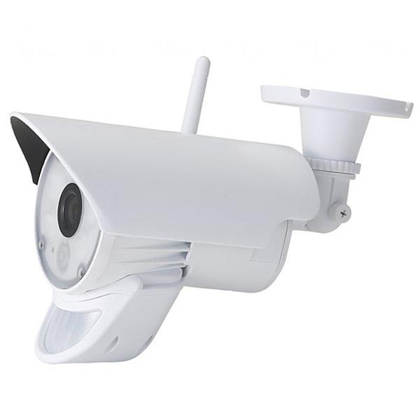 【送料無料】NSK NS-72NCW ネットでlight センサーライト録画機能付きIPカメラ【在庫目安:お取り寄せ】  カメラ ネットワークカメラ ネカメ 監視カメラ 監視 屋外 録画