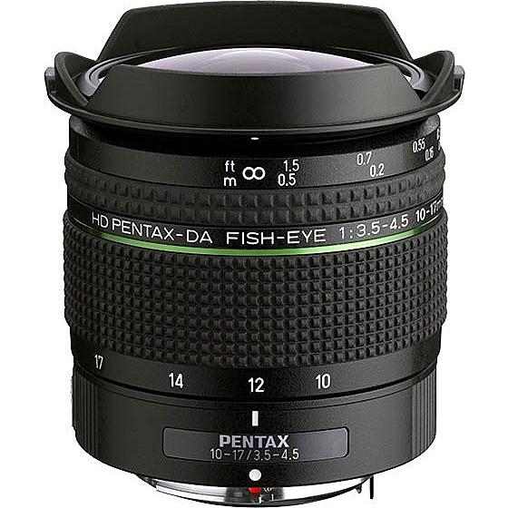 【送料無料】リコーイメージング HDDAFE10-17F3.5-4.5 超広角魚眼ズームレンズ HD PENTAX-DA FISH-EYE10-17mmF3.5-4.5ED (ケース/ フード付)【在庫目安:お取り寄せ】| カメラ 交換レンズ レンズ 交換 マウント