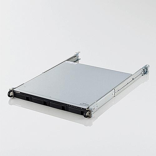 【送料無料】ELECOM KTB-7A4T4RL NASキッティング/ 初期設定/ バックアップ設定/ USB-HDD付き/ ELD-REN030UBK/ LinuxNAS/ 1U4Bay/ 4TB/ NetStor7シリーズ【在庫目安:お取り寄せ】| パソコン周辺機器
