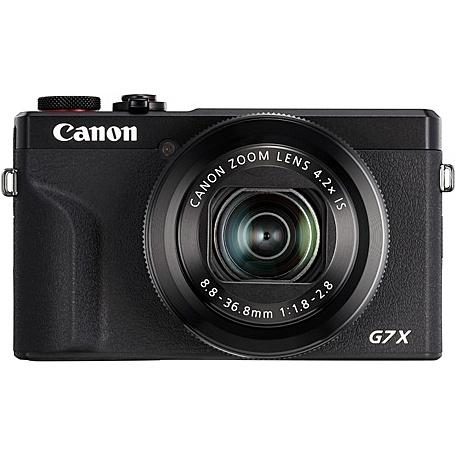 【送料無料】Canon 3637C004 デジタルカメラ PowerShot G7 X Mark III (ブラック)【在庫目安:お取り寄せ】