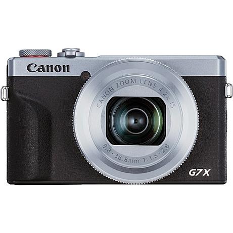 【送料無料】Canon 3638C004 デジタルカメラ PowerShot G7 X Mark III (シルバー)【在庫目安:お取り寄せ】
