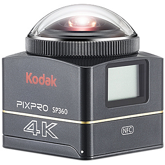 【送料無料】マスプロ電工 SP360-4K Kodak PIXPRO 4K 360°アクションカメラ セット【在庫目安:お取り寄せ】