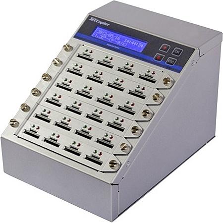【送料無料】コムワークス SRDSC-23G ログ機能付SD&MicroSDコピー機 1:23モデル【在庫目安:お取り寄せ】| パソコン周辺機器 フラッシュメモリコピーマシン デュプリケータ デュプリケーター コピー コピーマシン クローン デュプリケーター