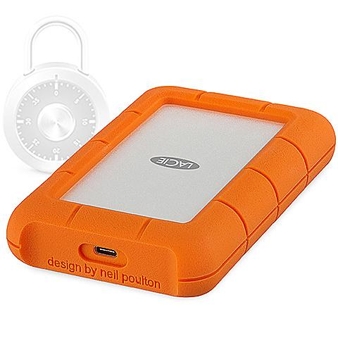 【送料無料】LaCie STFR2000403 Rugged SECURE/ 2TB【在庫目安:お取り寄せ】| パソコン周辺機器 ポータブル 外付けハードディスクドライブ 外付けハードディスク 外付けHDD ハードディスク 外付け 外付 HDD USB