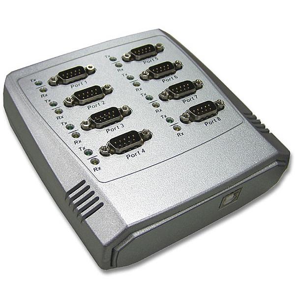 【送料無料】ラインアイ USB-8COM USB/ シリアル変換器(8ポート)【在庫目安:お取り寄せ】
