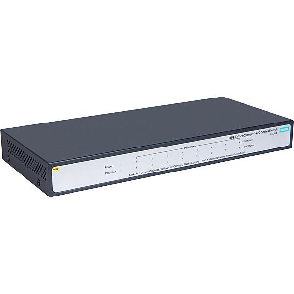 【送料無料】 JH330A#ACF HPE OfficeConnect 1420 8G PoE+ (64W) Switch【在庫目安:僅少】| パソコン周辺機器 スイッチングハブ L2スイッチ レイヤー2スイッチ スイッチ ハブ L2 ネットワーク PC パソコン