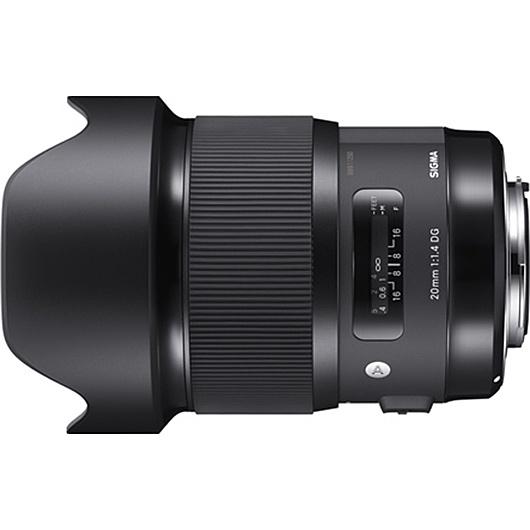【送料無料】SIGMA 20/1.4DG HSM SA 20mm F1.4 DG HSM シグマ用【在庫目安:お取り寄せ】| カメラ 単焦点レンズ 交換レンズ レンズ 単焦点 交換 マウント ボケ