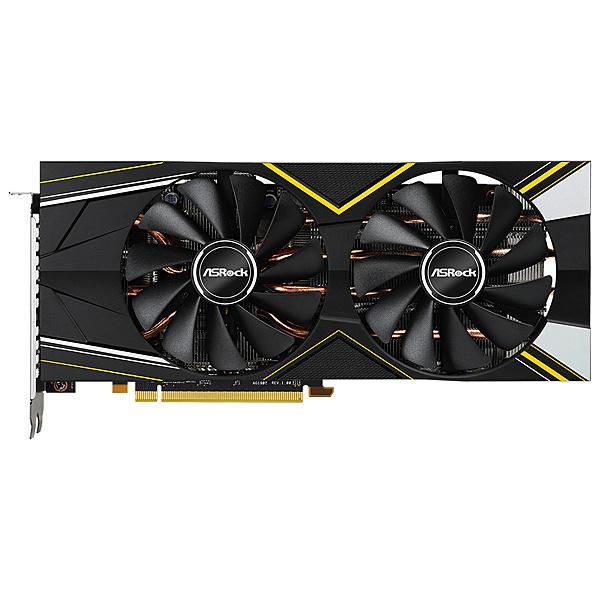 【送料無料】ASRock RX5700 Challenger D8G OC AMD Radeon RX5700搭載 グラフィックボード GDDR6 8GB オリジナルファンモデル【在庫目安:お取り寄せ】  パソコン周辺機器 グラフィックボード