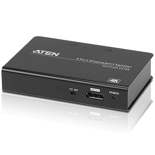 【送料無料】ATEN VS192 DisplayPort 2分配器(4K/ 60Hz対応)【在庫目安:お取り寄せ】