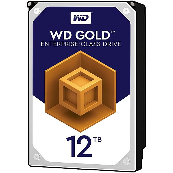 【送料無料】WESTERN DIGITAL WD121KRYZ WD Goldシリーズ 3.5インチ内蔵HDD 12TB SATA6.0Gb/ s 7200rpm/ class 256MBキャッシュ搭載【在庫目安:お取り寄せ】  パソコン周辺機器 ハードディスクドライブ